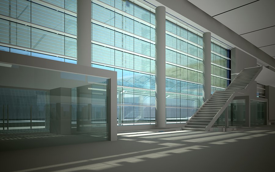 Terminal 2 Curtain Wall