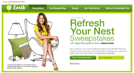Target Earth Month Sweepstakes