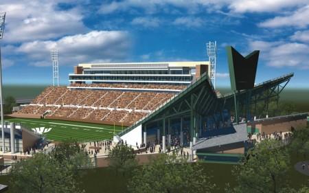 UNT Stadium SW View