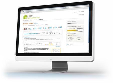 LEED Web tool