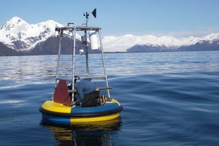 University of Alaska climate buoy