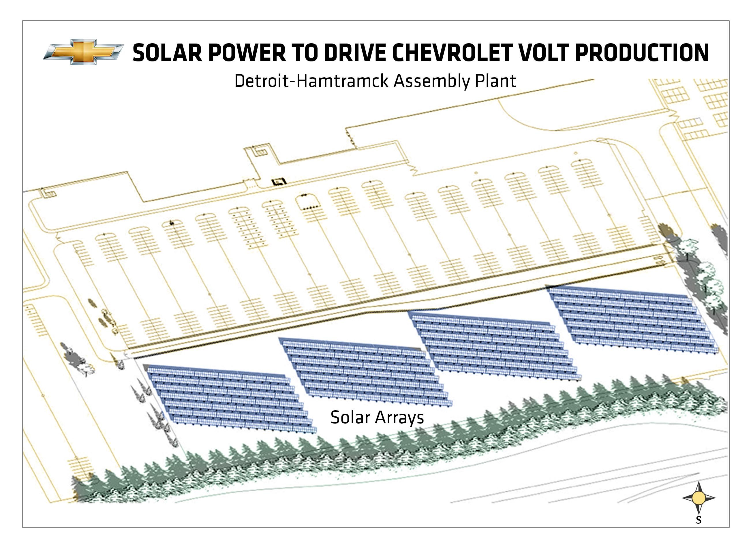 GM Volt Plant Solar Array