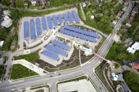 Solar Power Canopy At Cincinnati Zoo Big Earthtechling