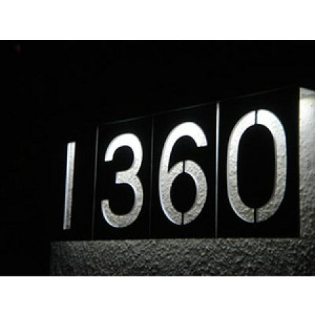 Solar LED Address