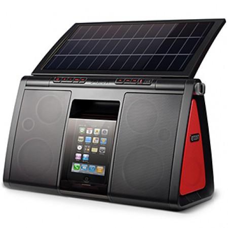 Soulra XL Solar Ipod Speaker Dock