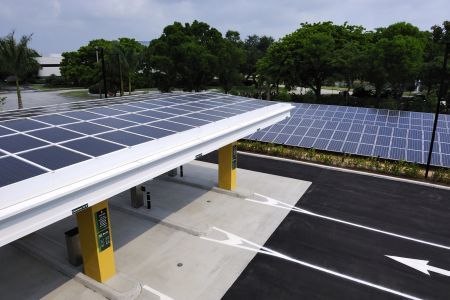TC Bank solar panels