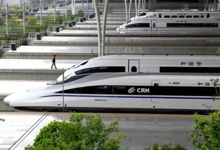 High Speed Rail, China, Trains