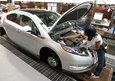Chevrolet Volt, Chevy Volt, GM, Hybrids, Plug-In Hybrids, Batteries