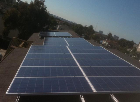 Las Serenas solar panels
