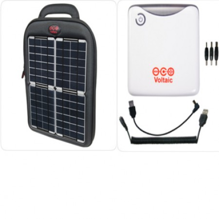 Voltaic Solar Charging Tablet Case and USB Battery