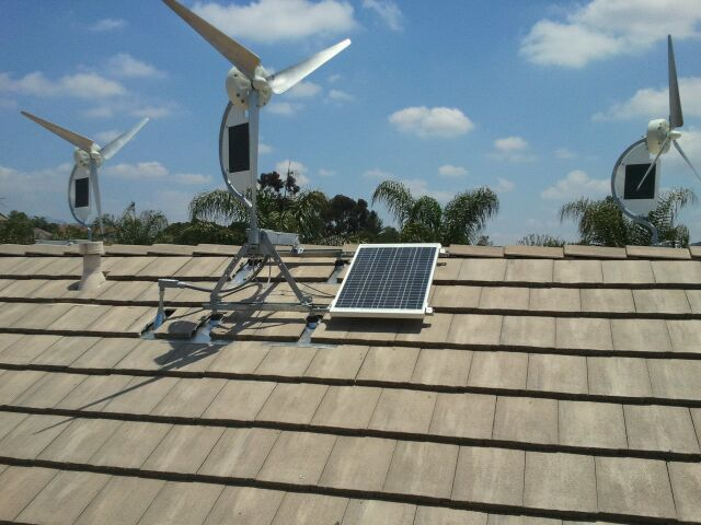 Solar Wind Energy Devices Get Pretty Cozy Earthtechling