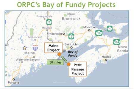 Bay of Fundy Projects