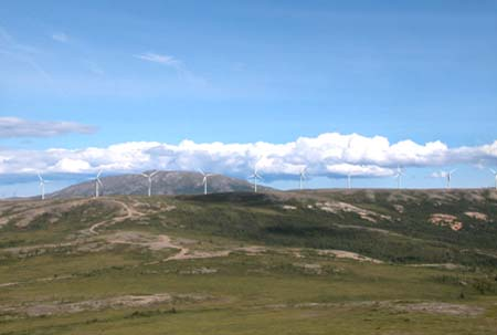 Eva Creek Wind Project