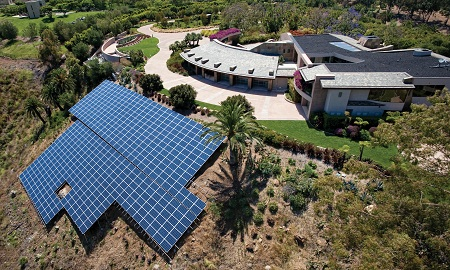 largest residential solar power installation in U.S., SolarWorld