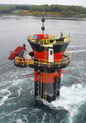 SeaGen turbine