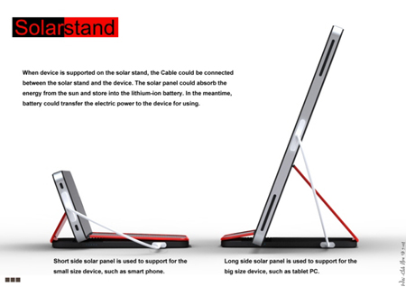 Solar Stand concept design
