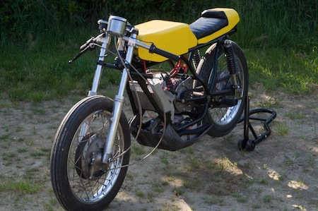 Electric Motorcycle Conversion, Yamaha