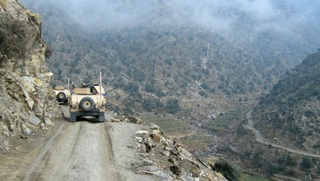 military convoy, biofuels