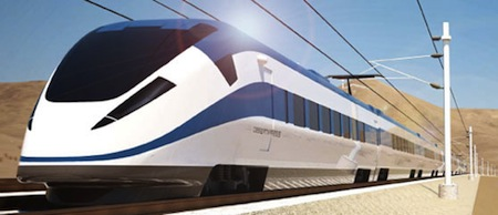 DesertXpress, High Speed Rail, Nevada, California, Las Vegas, Los Angeles