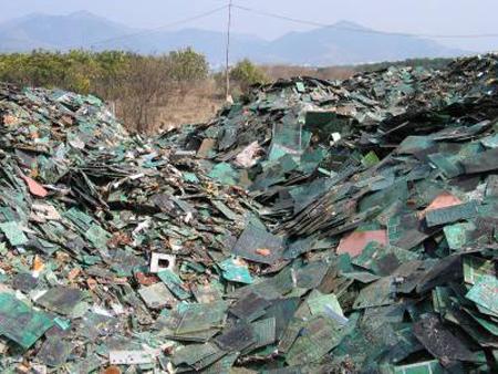e-waste dump, China
