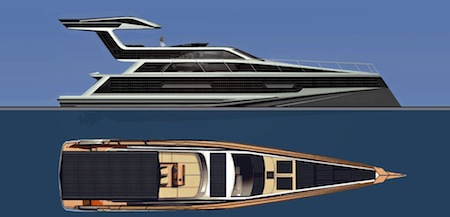 Emax Excalibur, Solar Boat, Hybrid, GM