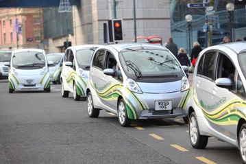Electric Cars, Electric Vehicles, Mitsubishi i-MiEV
