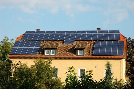 solar heat storage, germany
