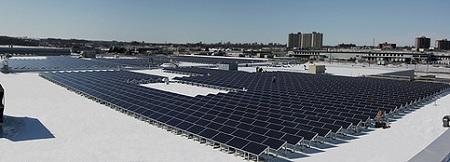 Kitchner, Ontario, rooftop solar installation