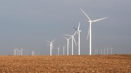 Midwestern wind farm