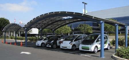 Mitsubishi, Solar Power, Charging Station, Electric Cars, Electric Vehicles