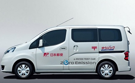 NV200 electric commercial vehicle