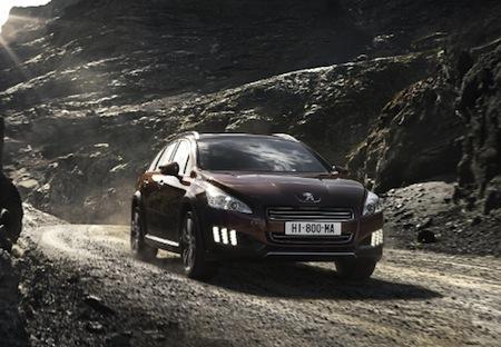 Peugeot 508 RXH, Diesel Hybrid, Hybrids, France, Germany