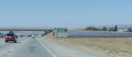 solar highways, freeway interchange solar systems