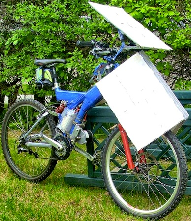 SolarCross, Electric Bicycle, Solar Power