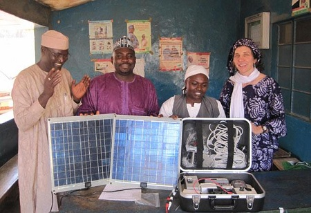 We Care Solar Suitcase for childbirth