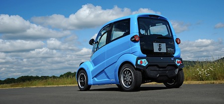 T.27, London, Gordon Murray Design, Electric Car, UK, England, Electric Vehicle