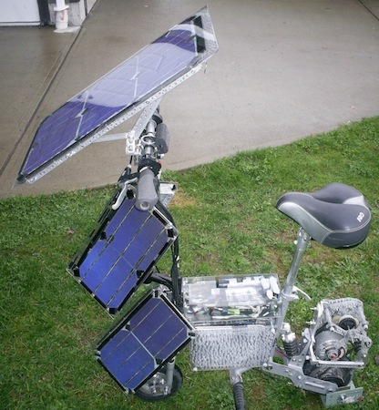 The KPV, Electric Vehicle, Electric Scooter, Solar Power