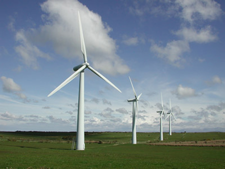 wind turbines via DynGlobal