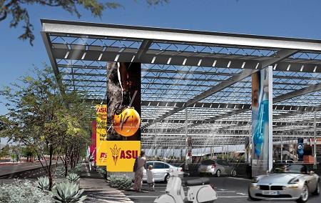 ASU Power Parasol Concept Drawing
