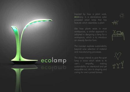 Eco-Lamp concept