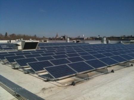 Ikea solar installation