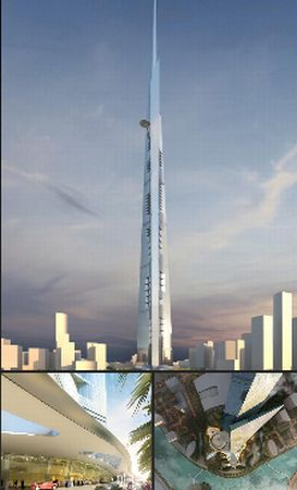 Kingdom Tower, Jeddah