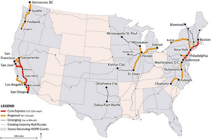 Nationwide High Speed Rail Plans