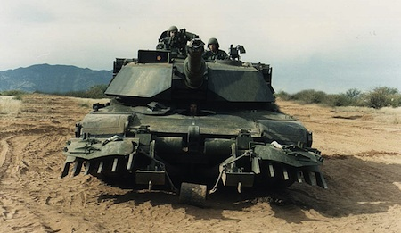 Abrams M1 Tank, U.S. Army