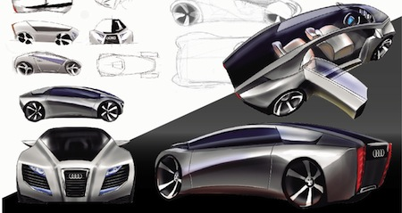 Aude e-R 1, Concepts, Electric Car, Electric Vehicles