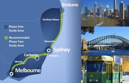 Australia, High Speed Project