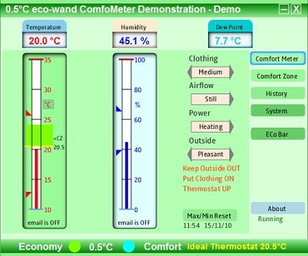comfometer