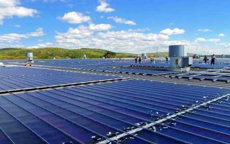 largest rooftop solar installation, Toys R Us, New Jersey