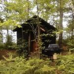 eco vacay loon cabin via wakanda