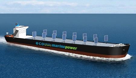 solar sails, Eco Marine Power